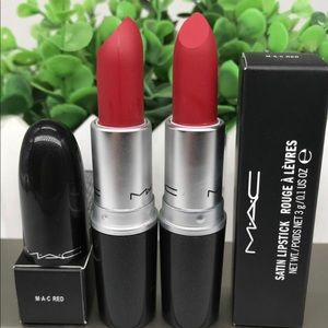 2 new Mac lipstick ( Mac red, Persistence)
